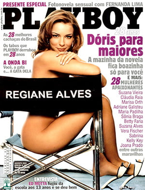 Regiane Alves Nua Playboy