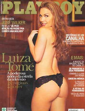 Luiza Tome Nua Playboy