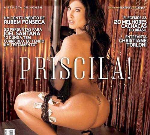 Priscila Pires Nua Playboy