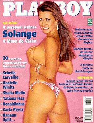 Solange Frazao Nua Playboy