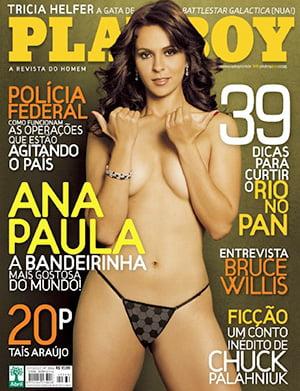 Ana Paula Oliveira Nua Playboy