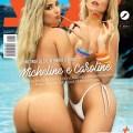 Micheline e Caroline gostosas peladas na praia ensaio para a Revista Sexy de Maio