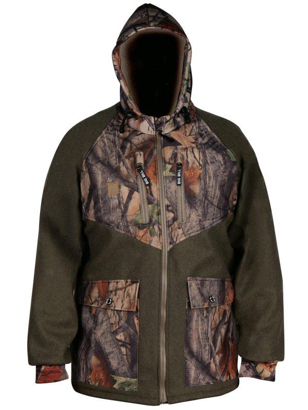 Big Bill Merino Wool Hunting Jacket - Bbharmer