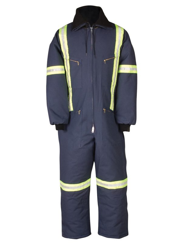 Big Bill Enhanced Visibility Insulated Duck Coverall - 804rt