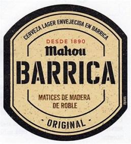 BARRICA MAHOU