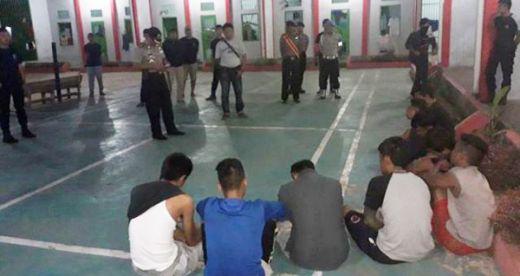 Diduga Pakai Narkoba dalam Sel, 9 Napi Lapas Dharmasraya Diciduk Polisi