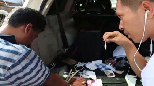 Bawa Sabu, Oknum Karyawan BUMN dan Teman Wanitanya Ditangkap di Padang