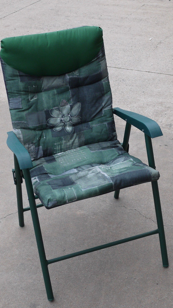 foldable chairs ergonomic chair malaysia outdoor garden chairs, foldable, folding, waterproof padded seat, comfortable