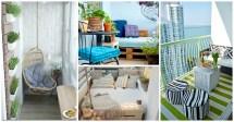 Wonderful Tiny Balcony Decor Ideas Summer
