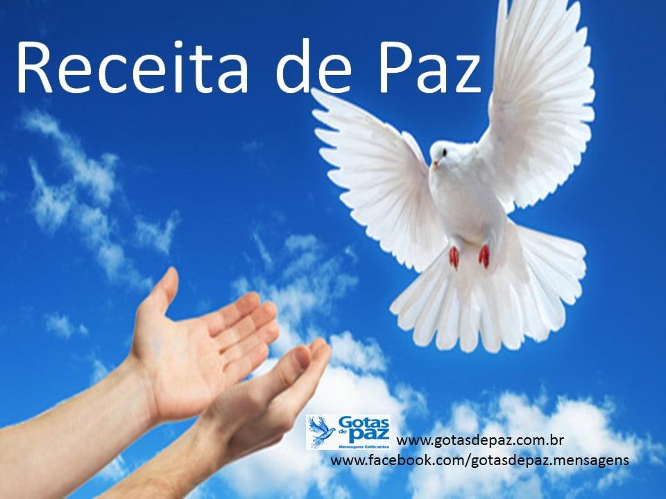Receita de Paz