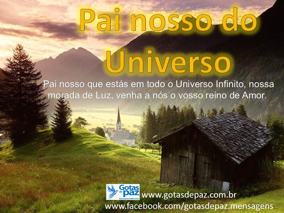 Pai nosso do Universo