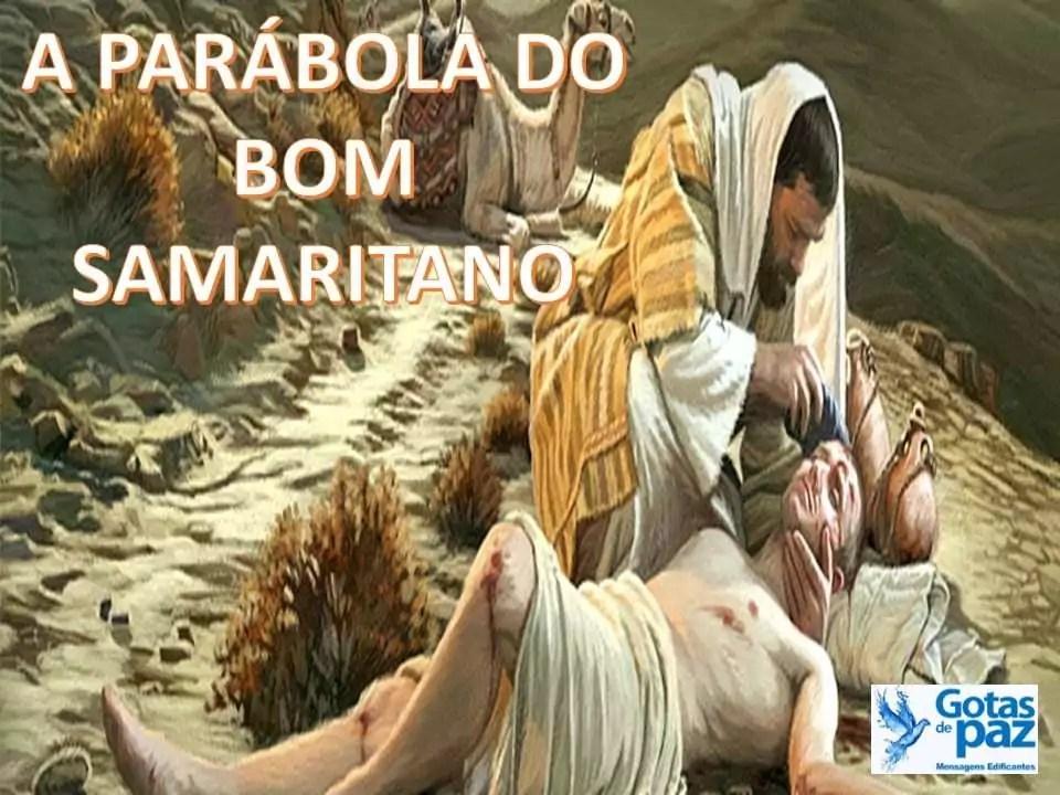 A PARÁBOLA DO BOM SAMARITANO