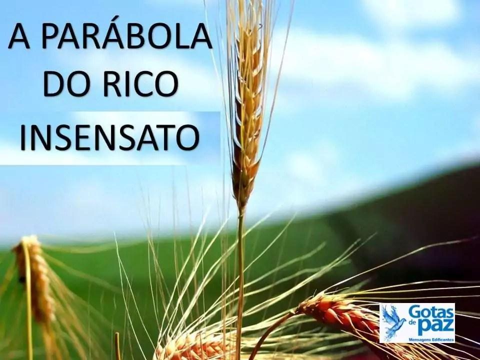 A PARÁBOLA DO RICO INSENSATO