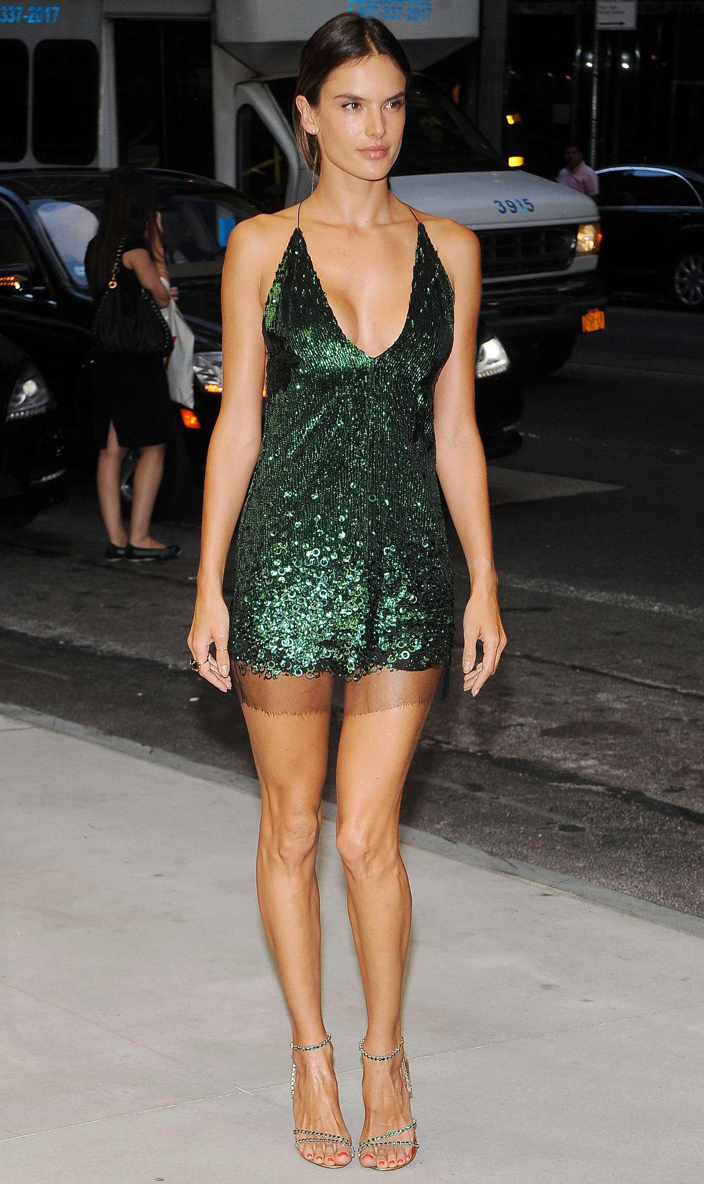 Alessandra Ambrosio 2014 Fashion Media Awards 10 GotCeleb