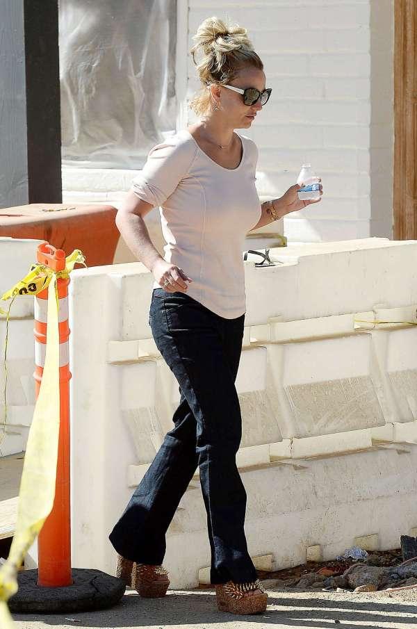 Britney Spears In Jeans Thousand Oaks