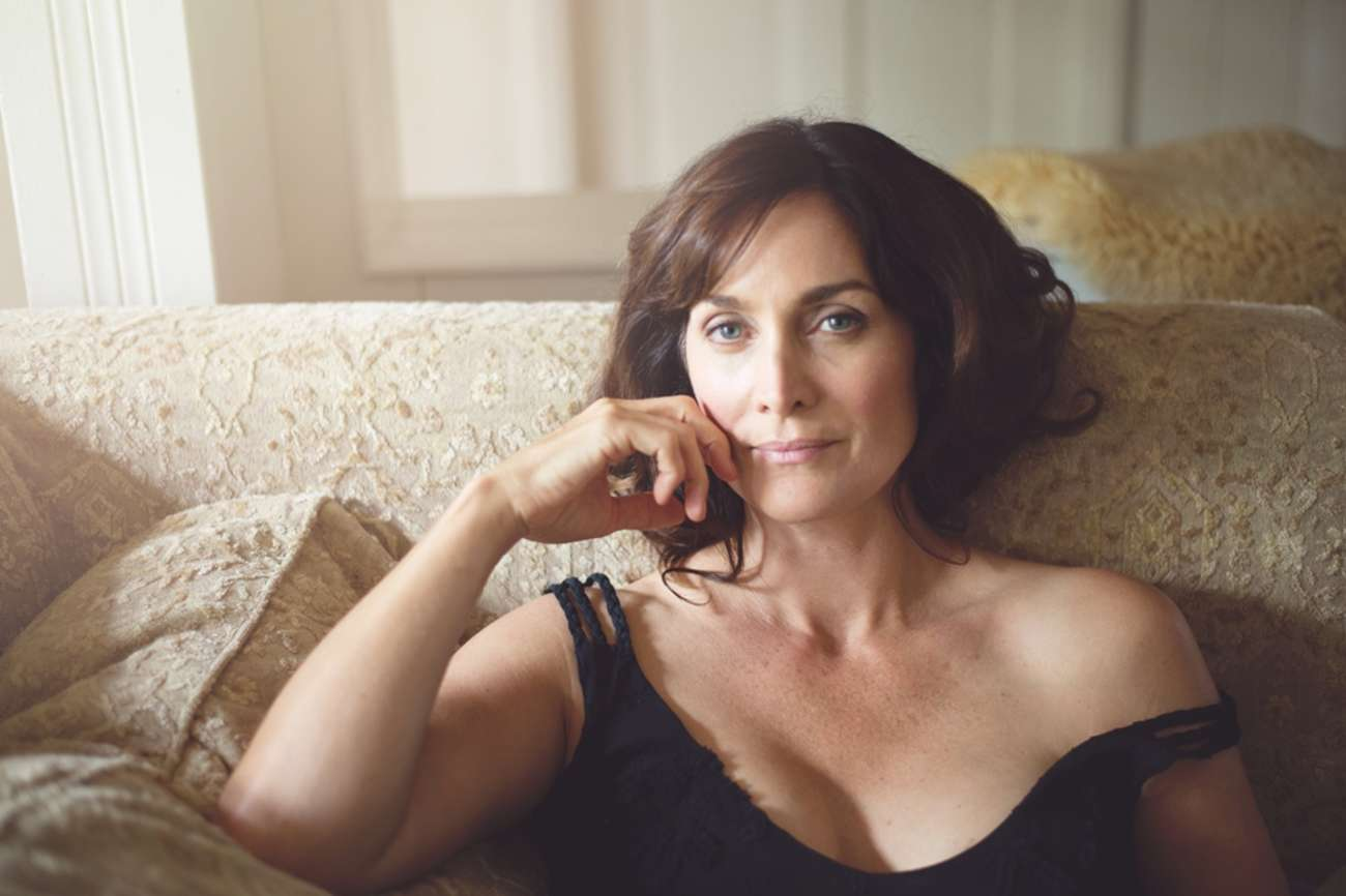 CarrieAnne Moss Catherine Just Photoshoot for Annapurna