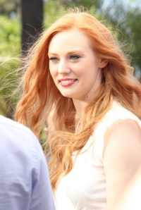 Deborah Ann Woll - On the set of EXTRA -12 - GotCeleb