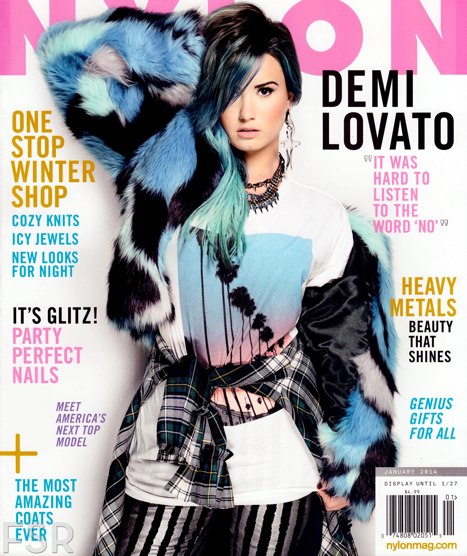 Demi Lovato Nylon Magazine 05  GotCeleb