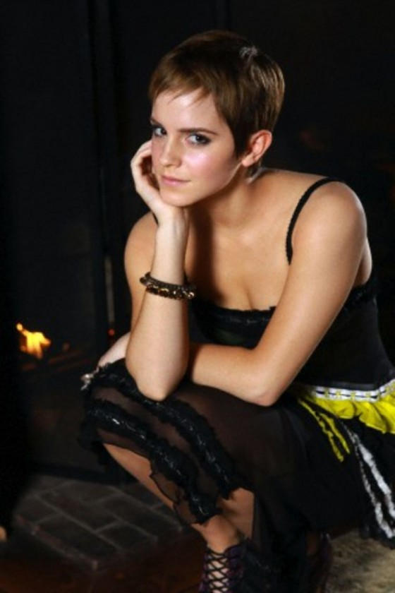 Emma Watson Women Wear Daily Magazine 2010 Outtakes 02