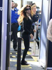 Eva Longoria Airport Security
