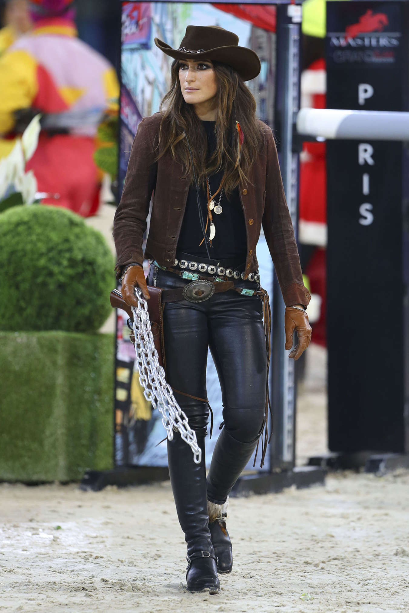 Jessica Springsteen Gucci Horse Riding Masters In Paris Gotceleb