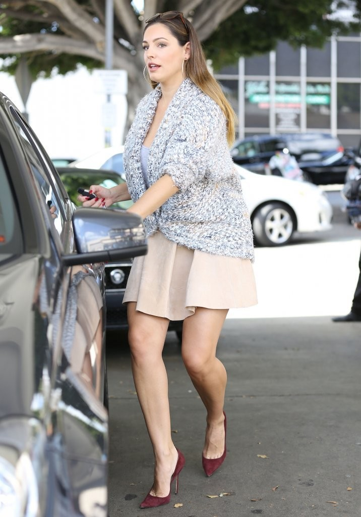 Kelly Brook At A Gas Station In West Hollywood GotCeleb