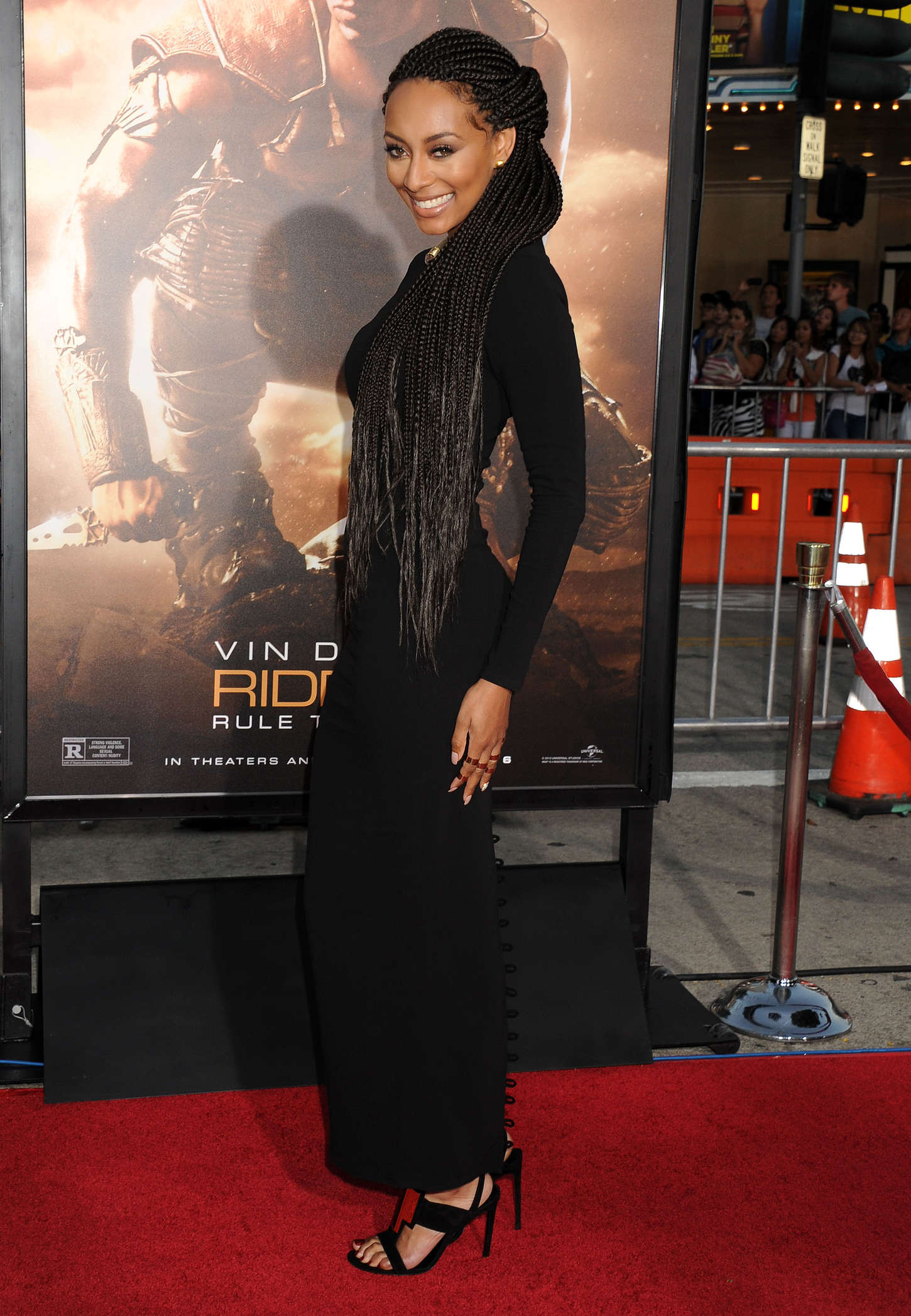 Keri Hilson At Riddick Rule The Dark Premiere 14 GotCeleb