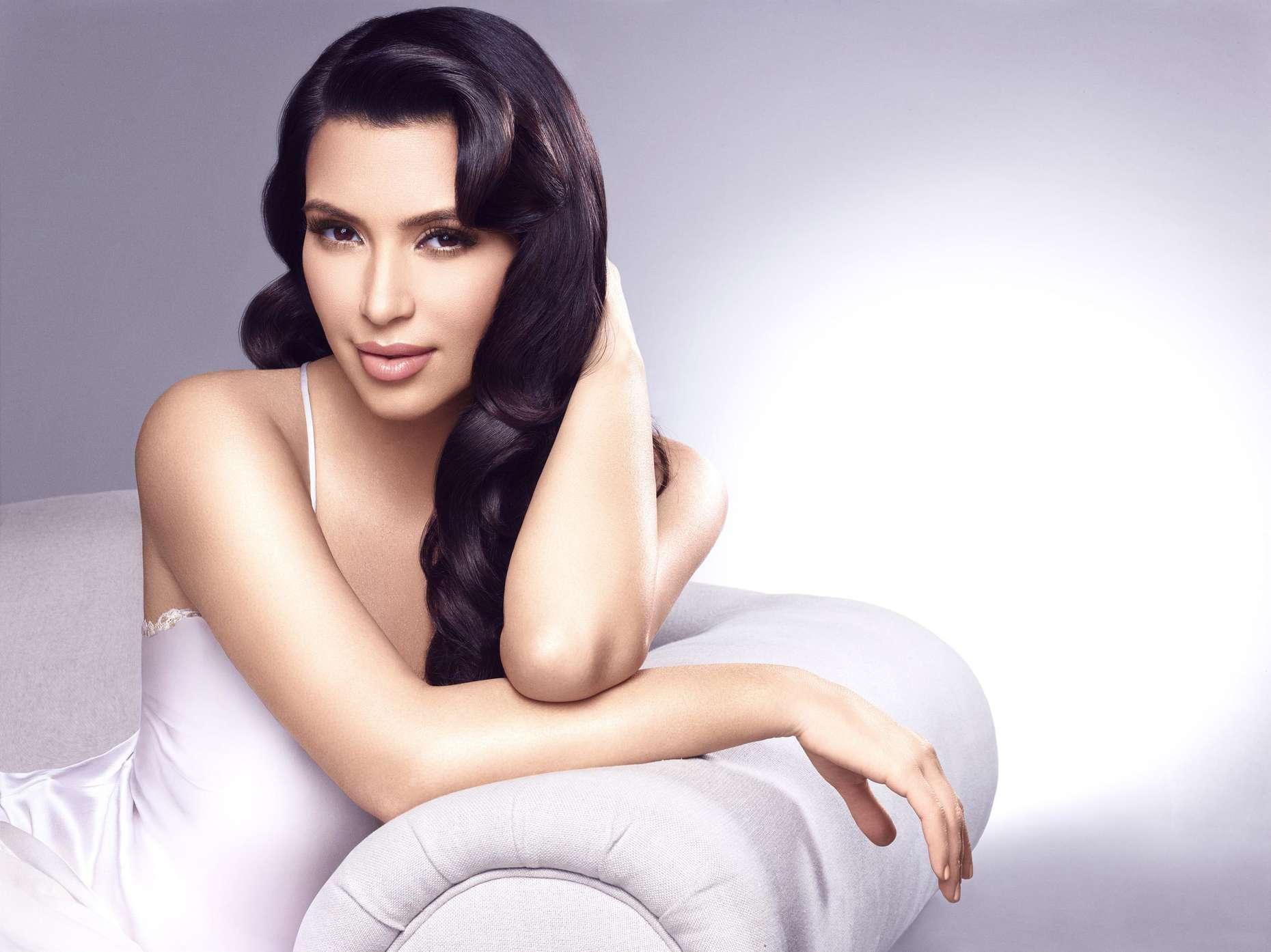 Kim Kardashian  Kardashian Beauty 2013 Photoshoot  GotCeleb