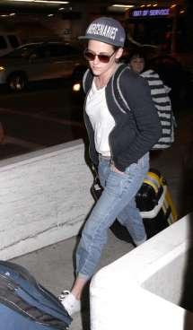 Kristen Stewart at LAX Airport