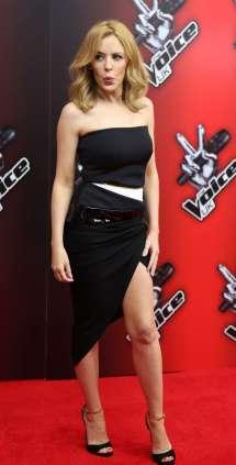 Kylie Minogue Voice UK