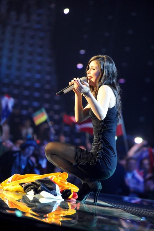 Lena Meyer Landrut Winner Of Eurovision Song Contest 2010