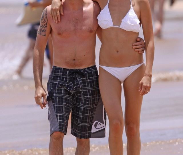 Malin Akerman Bikini On The Beach In Hawaii 14