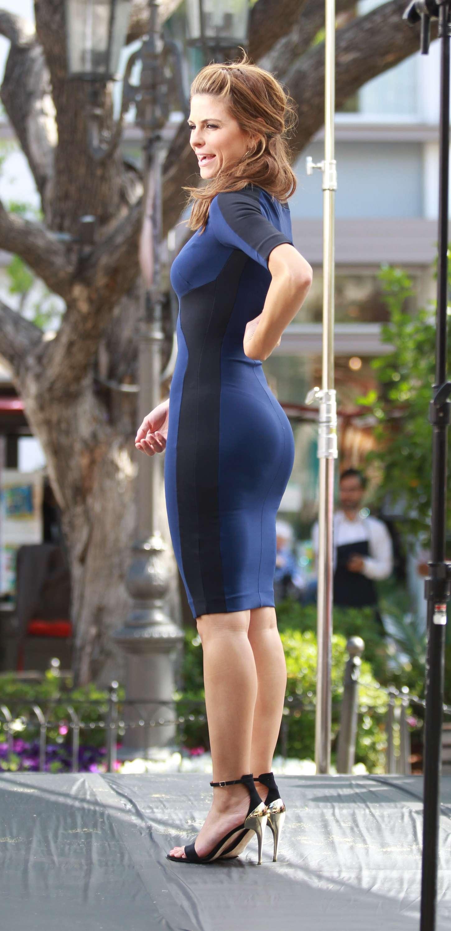 Maria Menounos  set at The Grove in Los Angeles 03