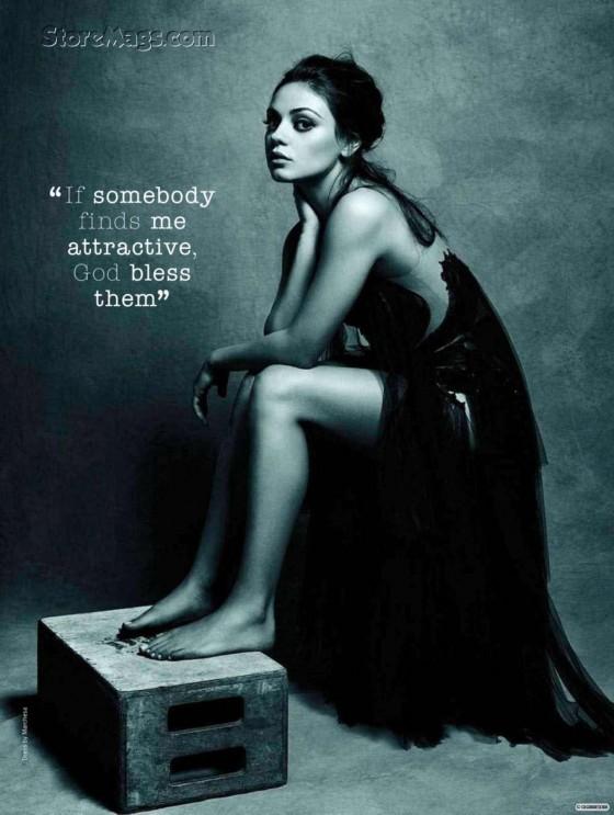Mila Kunis – Glamour Magazine UK (September 2011)