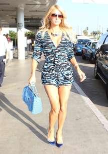 Paris Hilton Candids Lax-01 Gotceleb