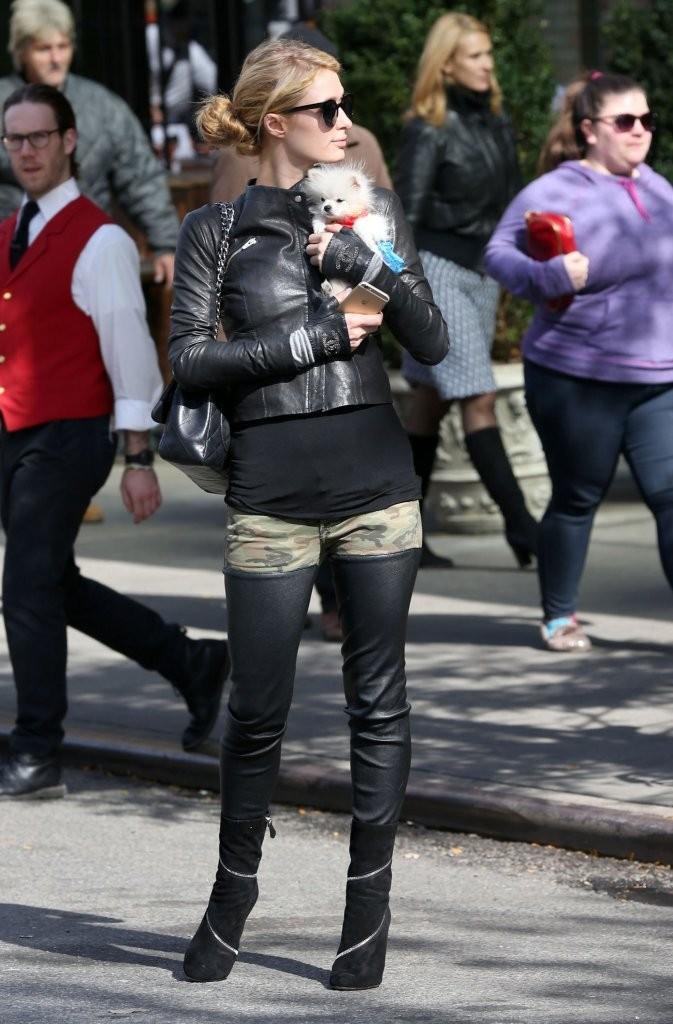 Paris Hilton Out Amp About In NYC GotCeleb