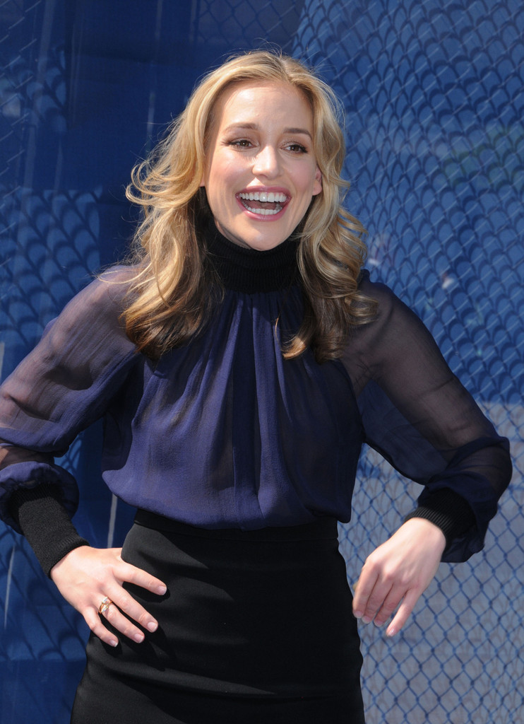 Piper Perabo  USA Network 2013 Upfront in NYC  GotCeleb