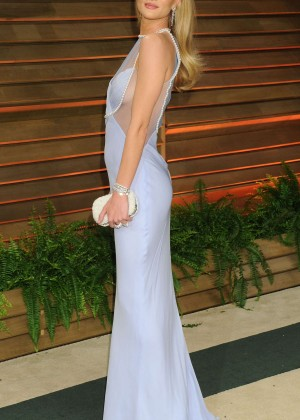 Rosie Huntington Whiteley: Oscar 2014 - Vanity Fair Party -05