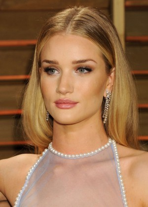 Rosie Huntington Whiteley: Oscar 2014 - Vanity Fair Party -06