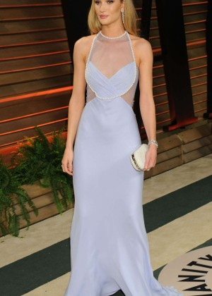 Rosie Huntington Whiteley: Oscar 2014 - Vanity Fair Party -13