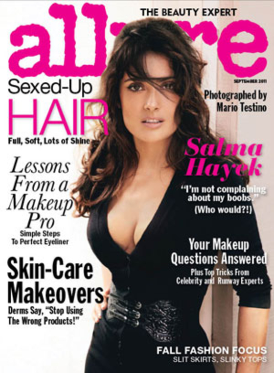 Salma Hayek – Allure Magazine – September 2011 issue