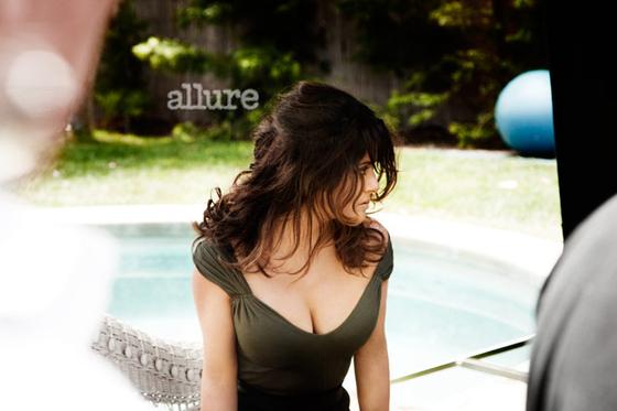 Salma Hayek – Allure Magazine – September 2011 issue