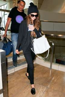 Selena Gomez at LAX Airport