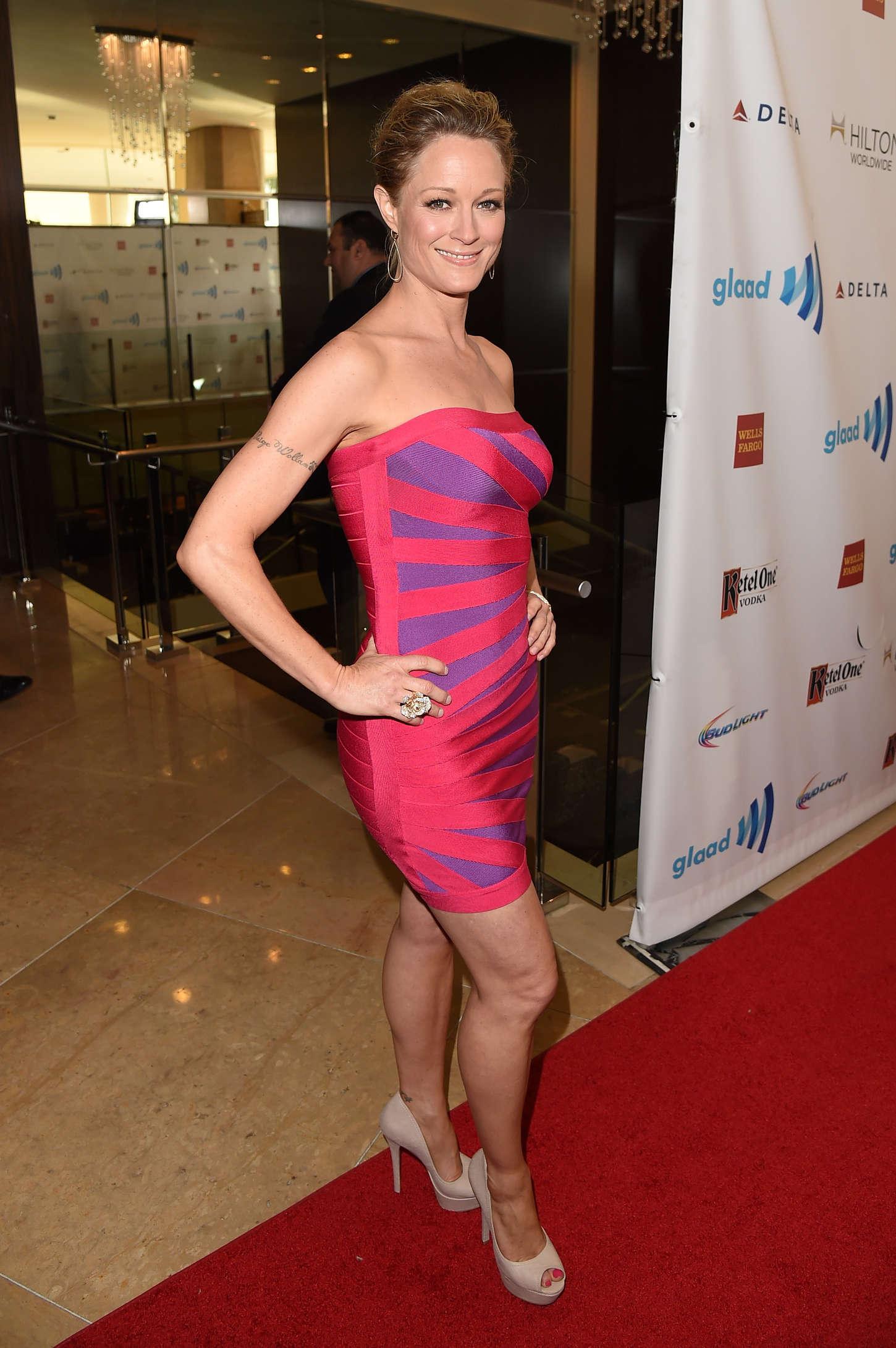 Teri Polo 25th Annual GLAAD Media Awards In LA GotCeleb