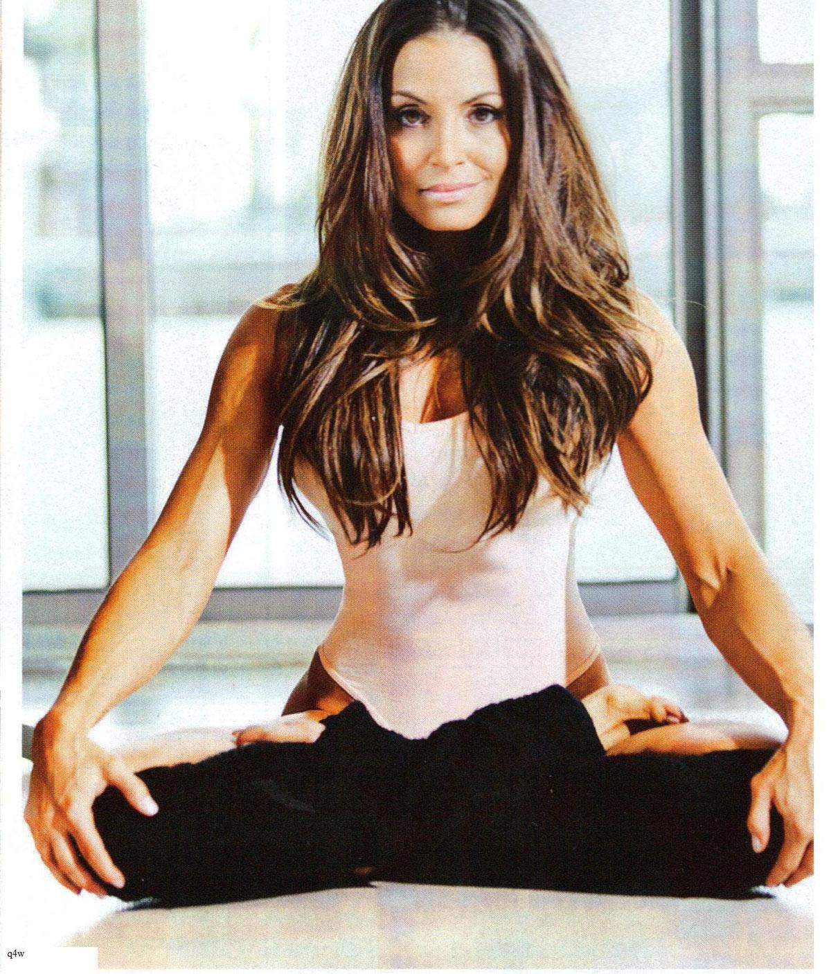 Wallpaper Girls In Yogapants Trish Stratus Inside Fitness 15 Gotceleb
