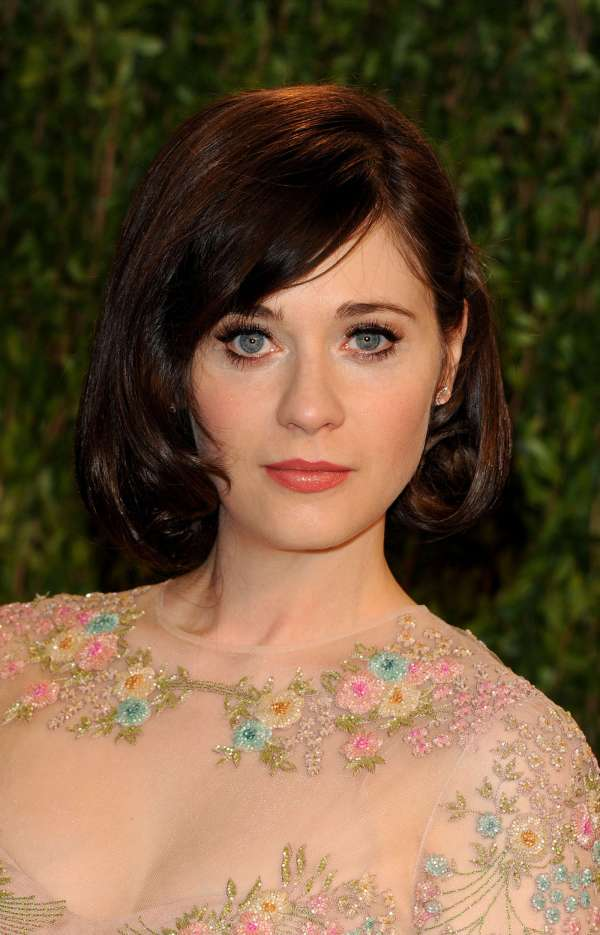 Zooey Deschanel Oscars 2013
