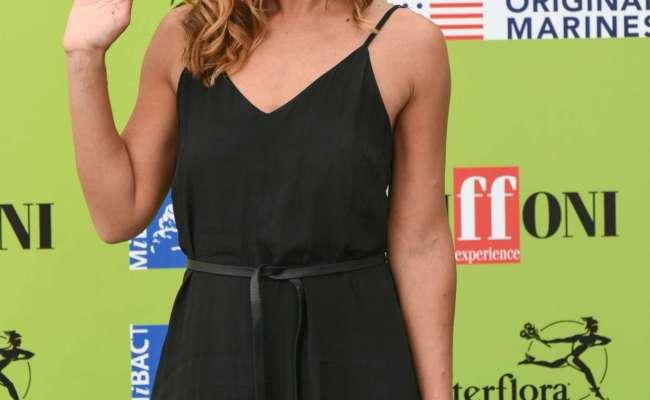 Ambra Angiolini Giffoni 2017 Film Festival In Giffoni