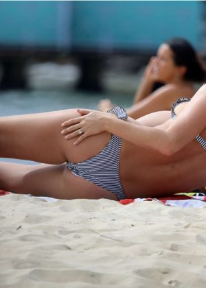 Anna Heinrich in Bikini at Seven Shillings Beach in Sydney