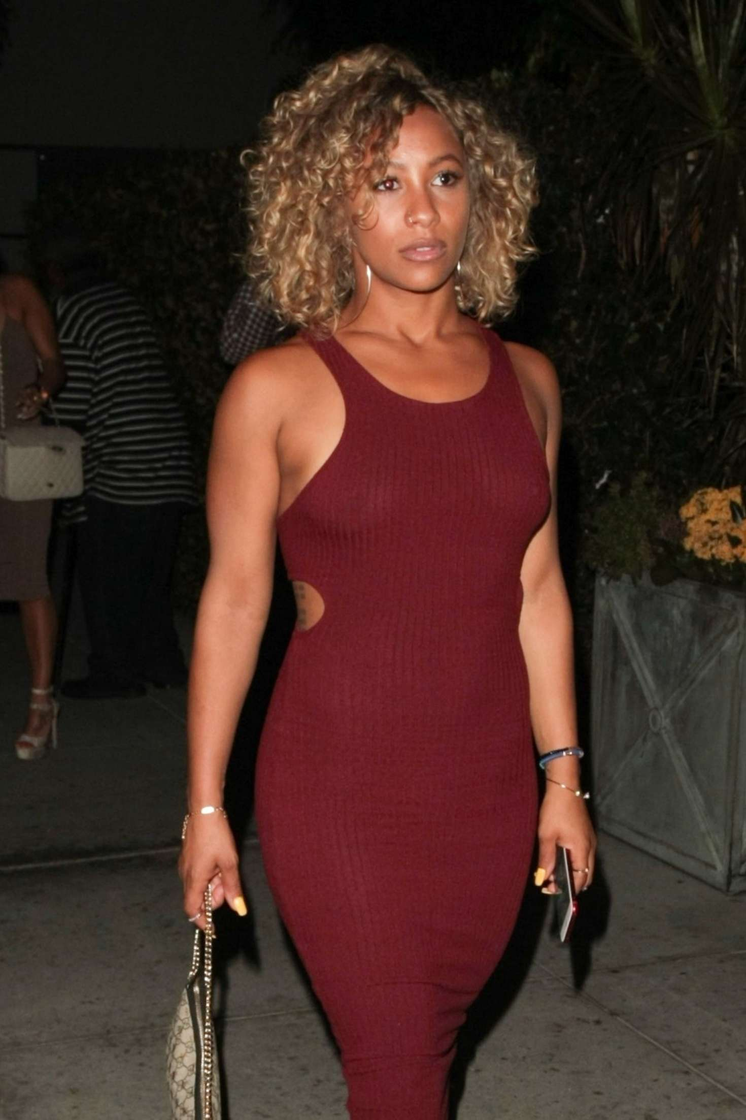 Asia H Epperson At Mastro S In Beverly Hills Gotceleb