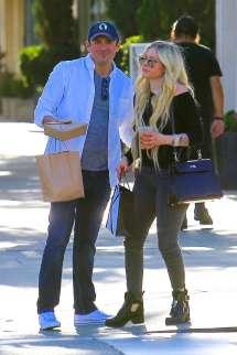Avril Lavigne And Boyfriend Phillip Sarofim In